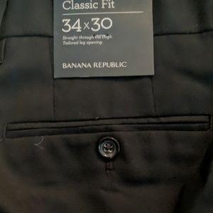 Banana Republic Pants - BANANA REPUBLIC CLASSIC FIT TROUSER